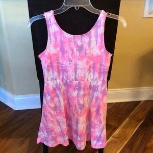 NWT! Tie-Dye Sleeveless Dress** Girls 12